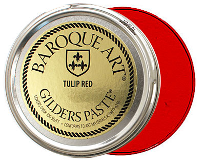 Tulip Red Baroque Art Gilders Paste 100ml