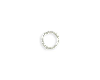 Vintaj Sterling Silver (plated) Organic Ring 12mm