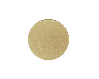 Lillypilly Gold Anodized Aluminum Disc 19mm, 22 gauge