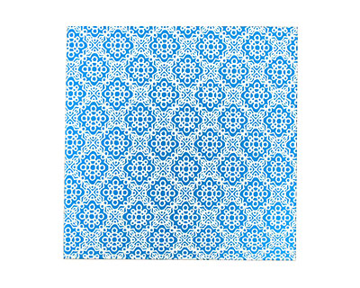 Lillypilly Turquoise Doily Anodized Aluminum Sheet 3