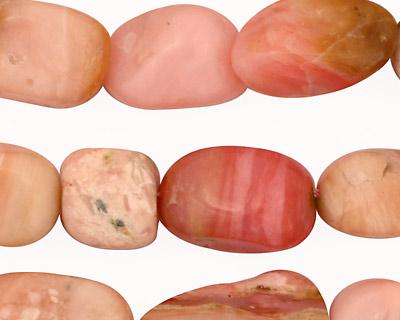 Pink Opal Tumbled Nugget 10-20x11-13mm