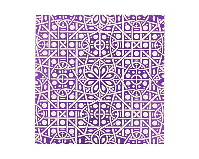 Lillypilly Purple Cross Stitch Anodized Aluminum Sheet 3