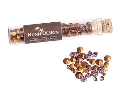 Nunn Design Light Amethyst Crystal Chaton 5g