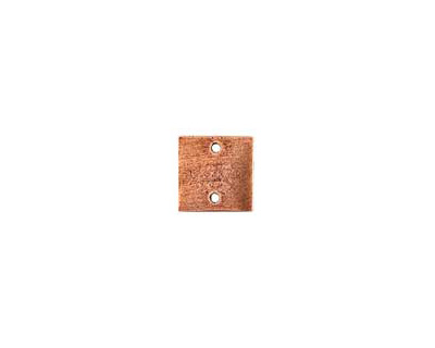 Nunn Design Antique Copper (plated) Flat Mini Square Tag Link 13mm