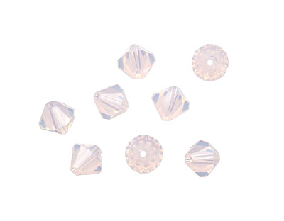 Swarovski Rose Water Opal Faceted Bicone 6mm (5301)