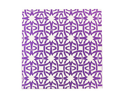 Lillypilly Purple Starburst Anodized Aluminum Sheet 3