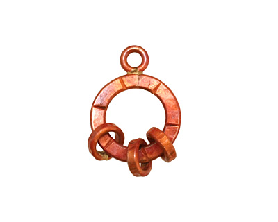 Patricia Healey Copper Small Loop w/ Rings 15x20mm