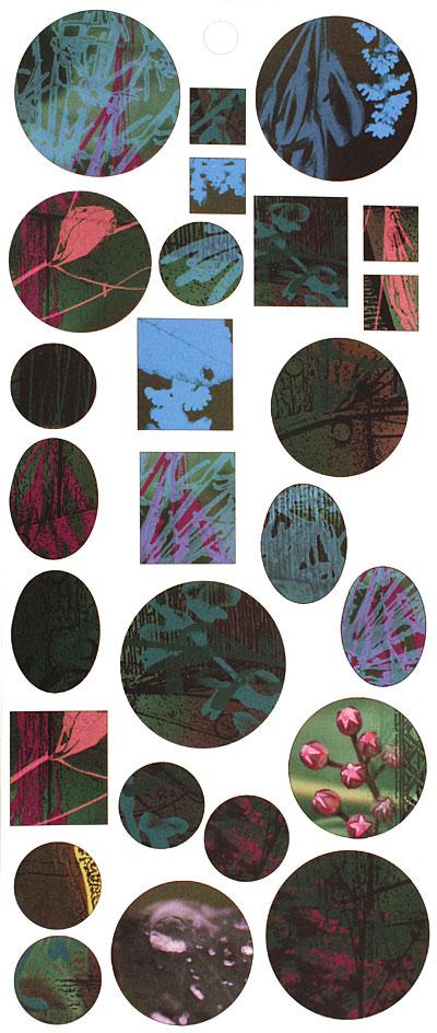 Vintaj Abstract Flowers Bezel Sheet