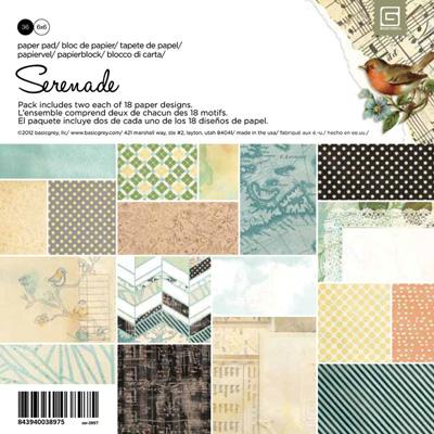 Serenade Paper Pad 6