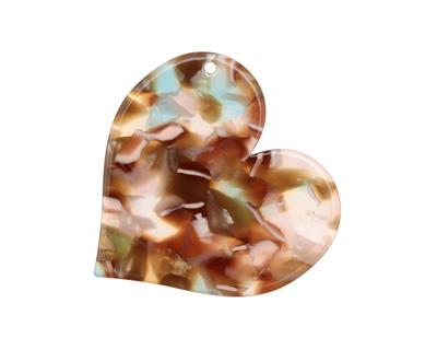 Zola Elements Mermaid Acetate Heart Focal 35mm