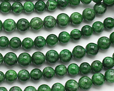 Chrome Diopside Round 7-8mm