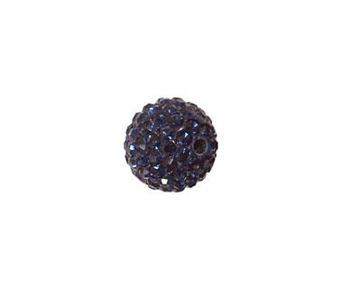 Montana Blue Pave Round 12mm
