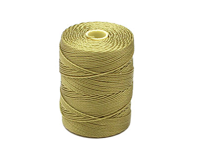 C-Lon Lemongrass (.5mm) Bead Cord
