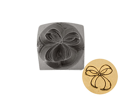 Bow Metal Stamp 6mm