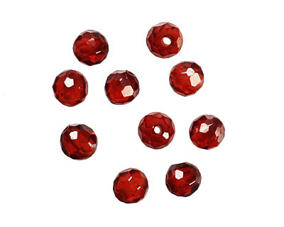 INACTIVE Garnet Faceted Round 4mm