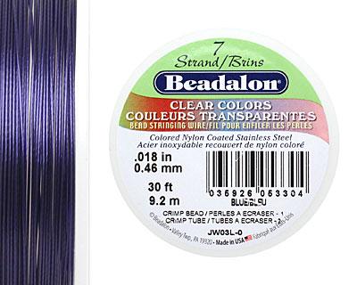 Beadalon Blue .018