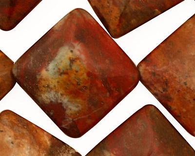 African Rainbow Agate Diamond 31mm