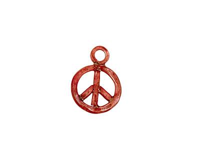 Patricia Healey Copper Peace Charm 13x18mm