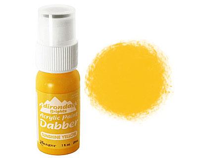 Adirondack Sunshine Yellow Acrylic Paint Dabber 29ml