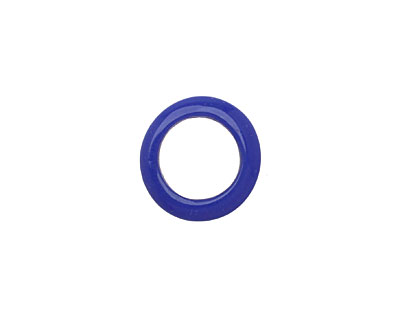 African Recycled Glass Cobalt Dogun Mini Ring 10-15mm