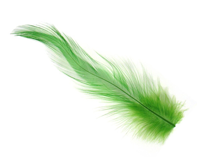 Chartreuse Neck Hackle Feather 100-152mm