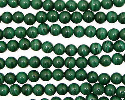Malachite Round 4-4.5mm