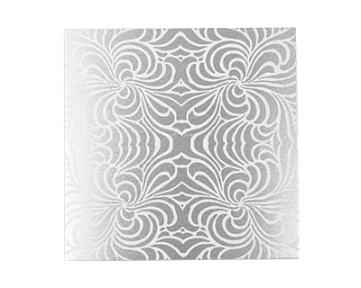 Lillypilly Silver Morphed Anodized Aluminum Sheet 3