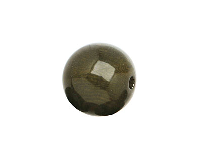 Tagua Nut Olive Round 16mm