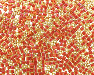 TOHO Jonquil (with Hyacinth Lining) Cube 1.5mm Seed Bead
