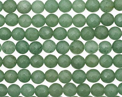 Green Aventurine Faceted Round 6mm