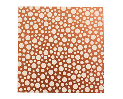 Lillypilly Bronze Scattered Dots Anodized Aluminum Sheet 3