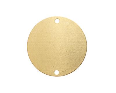 Brass Circle Blank Link 31mm