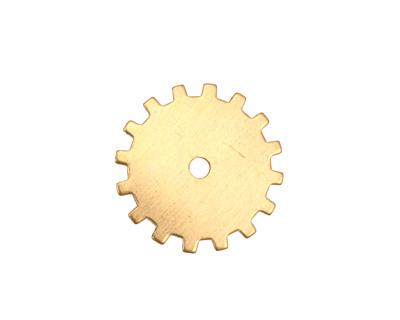 Brass Closed Gear 19mm