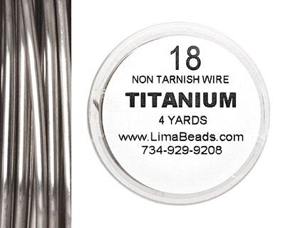 Parawire Titanium 18 gauge, 4 yards