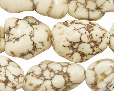 Magnesite Nuggets 13x13mm - 22x15mm