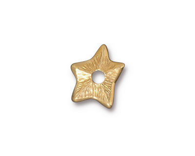 TierraCast Gold (plated) Star Rivetable 14mm