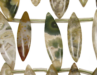 Ocean Jasper Spear Drops 8-12x20-38mm