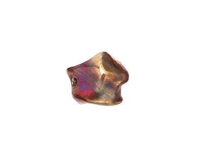 Xaz Raku Gold Luster Small Nugget 11-13mm