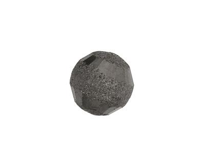 Gunmetal Brushed Round w/ Rings 15mm