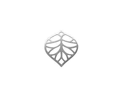 Amoracast Sterling Silver Pear Filigree 14x13mm