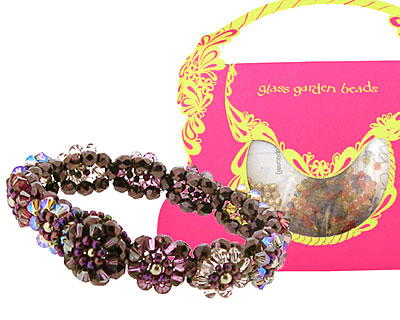 Glass Garden Sugarplum Blooming Crystals Bracelet Kit