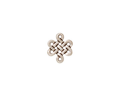 TierraCast Antique Silver (plated) Small Eternity Link 11x10mm