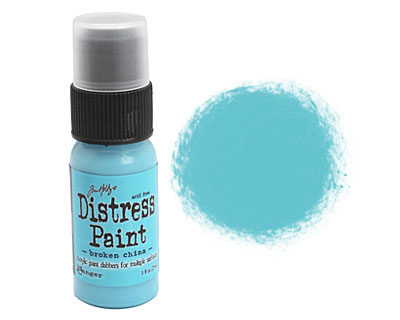 Tim Holtz Broken China Distress Paint Dabber 29ml