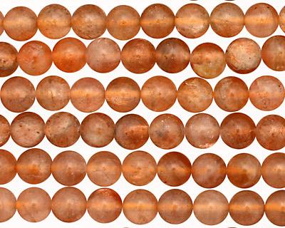 Sunstone (A) Round 6mm
