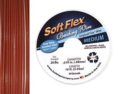 Soft Flex Red Jasper .019