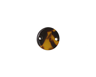 Zola Elements Tortoise Shell Acetate Coin Link 14mm