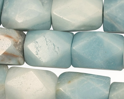 Amazonite Faceted Nugget 16-20x12-15mm