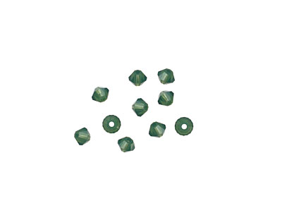 Swarovski Palace Green Opal Faceted Bicone 3mm (5301)
