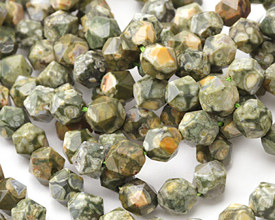 Rhyolite Star Cut Round 10mm