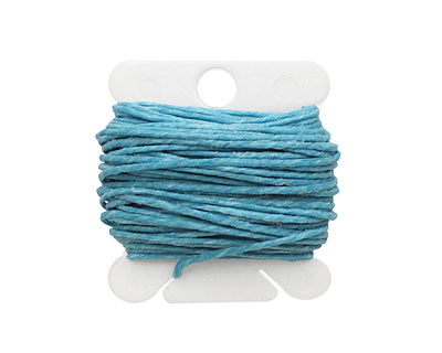 Turquoise Irish Waxed Linen 7 ply